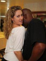 Faith Takes Big Black Cock at the Casino