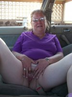 Older carflashers exposing their genitals to anybody