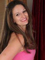 Victoria Johnson - 33 year old Victoria Johnson playing naked ballerina near a mirror