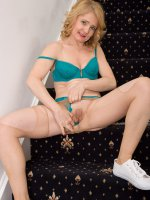 Isabella B - 45 year old Isabelle B from AllOver30 spreads her mature ass here