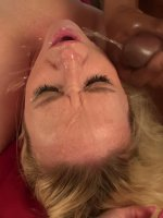 Smokin hot blonde gets a good hard fuck from a big black cock.