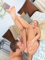Jennifer Best and Chad White	41 year old Jennifer Best takes a hard cock deep inside her pussy