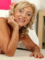 Kamilla,  65 year old housewife Kamilla putting on a very sexy strip show here