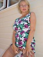 Busty blonde MILF Michelle