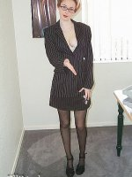 Junior Executive In Pantyhose