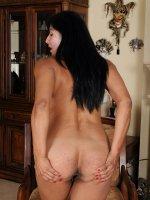 Estrella Jane - 43 year old Estrella Jane spreading her mature pink for the camera
