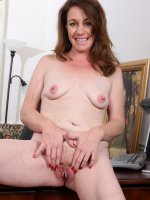 Molly Golly - After a long day at work 41 year old Molly Golly likes to get naked