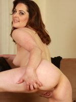 Tammy Wilcox - Cute and elegant Tammy Wilcox tugs her thong up into her pussy