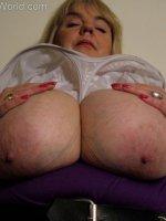 Big tits bbw mature topless