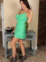 Charlee Chase	36 year old Charlee Chase showing off her big juicy melons in here