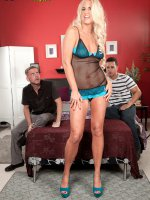 Samantha Ray - Blowjob,  Cumshot,  Mature - Happily Married And Fucking Two Strangers