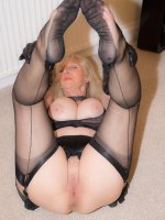 Gorgeous blonde mature Sandy