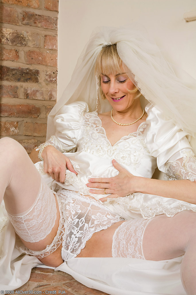 Hazel may mature wedding dress