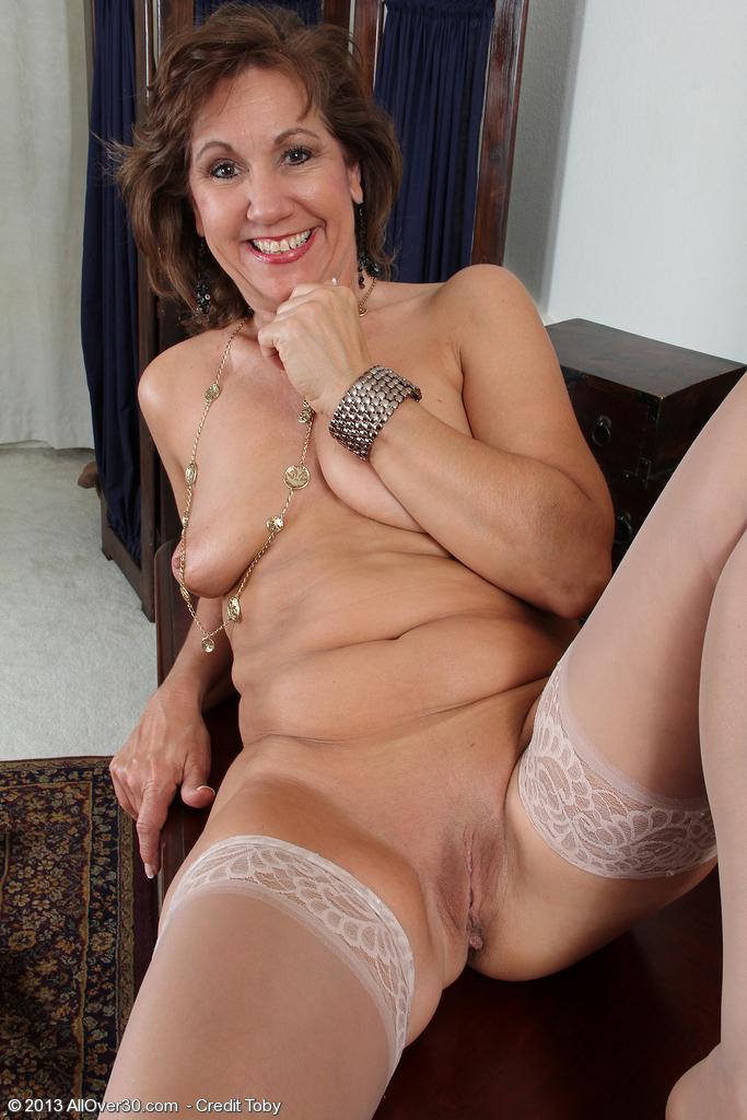 image Old skinny british office lady gets naughty