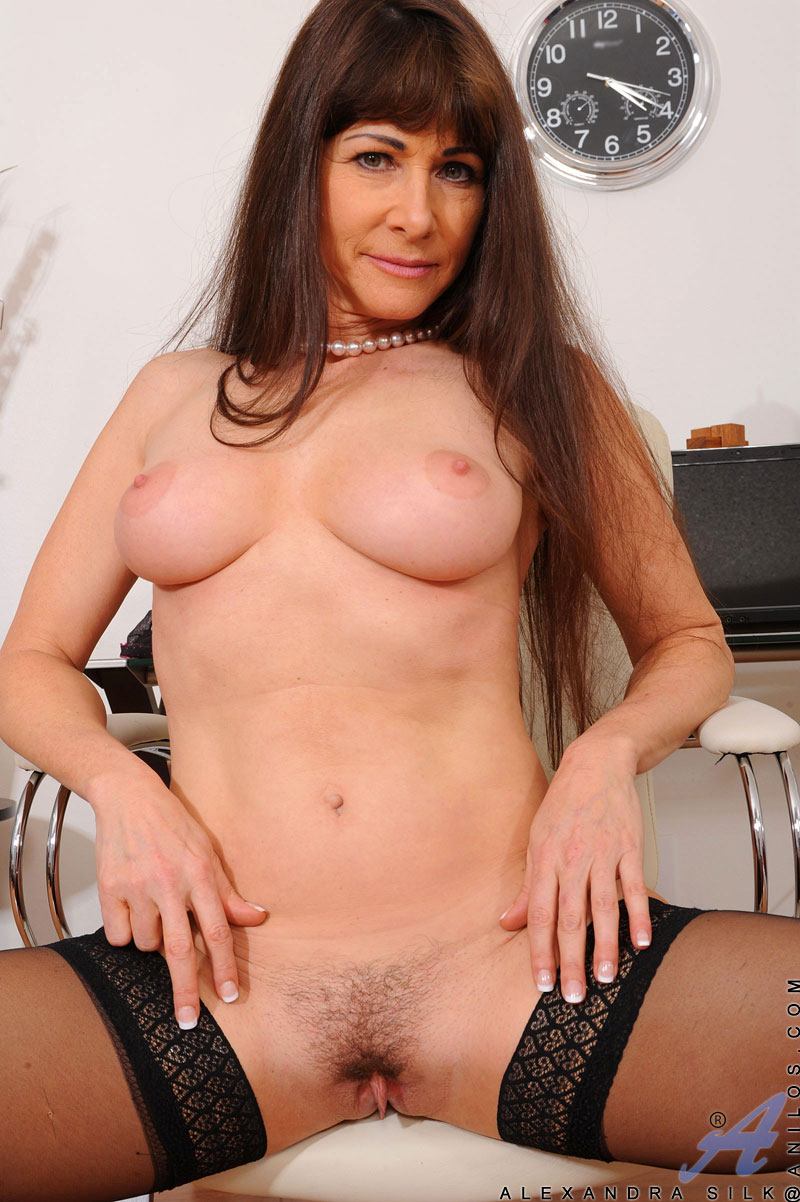 more pics and hd vids of alexandra silk and other mature women inside