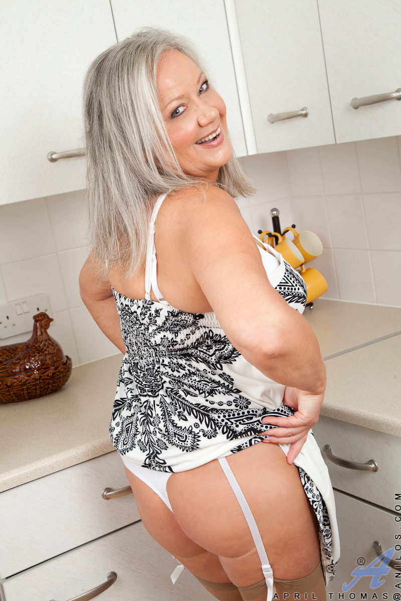 Stockings in sexy old grannies