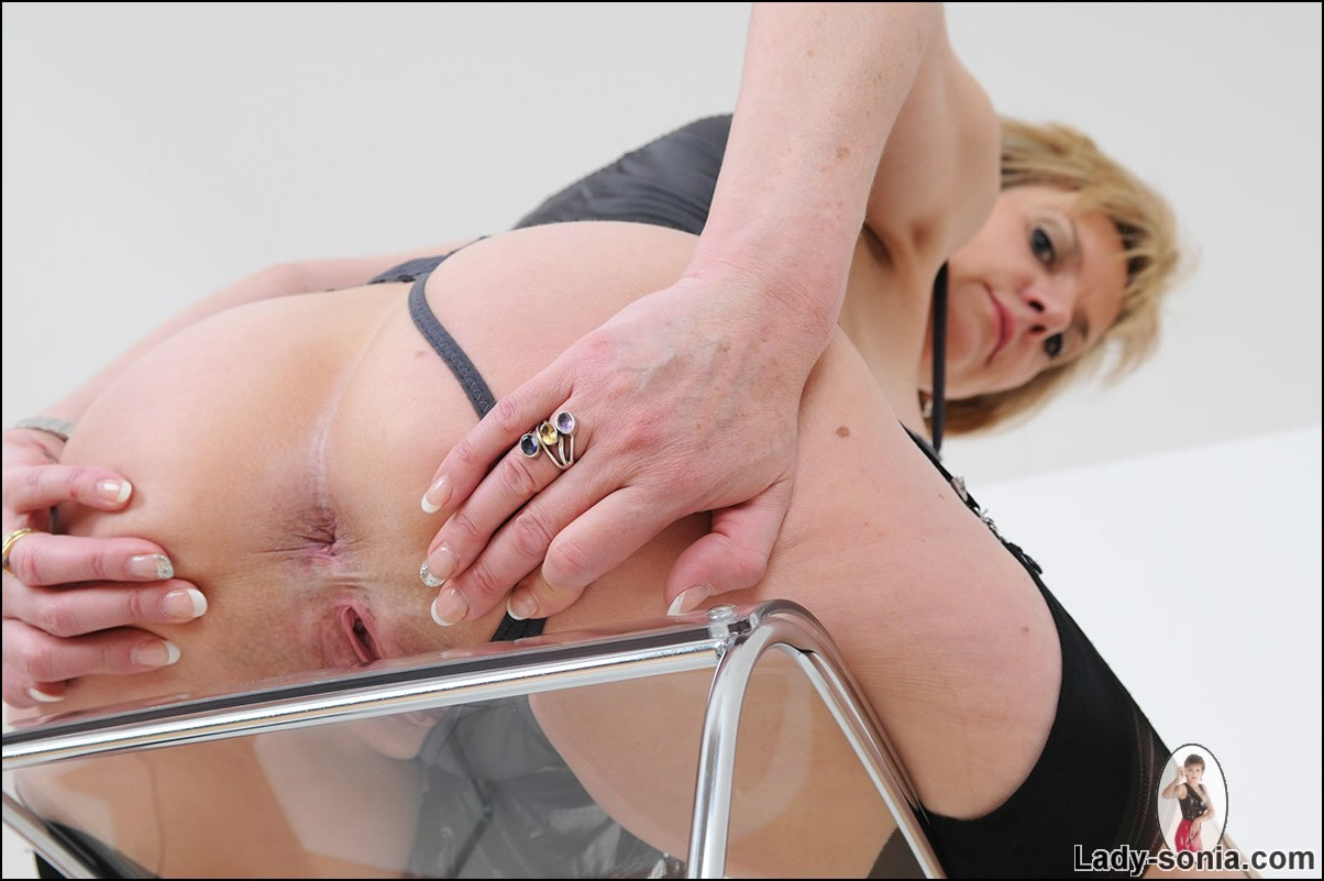What Mature lady sonia anal think, that