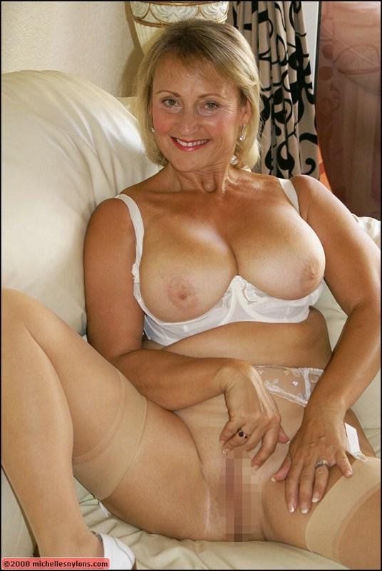 Large sexy mature woman