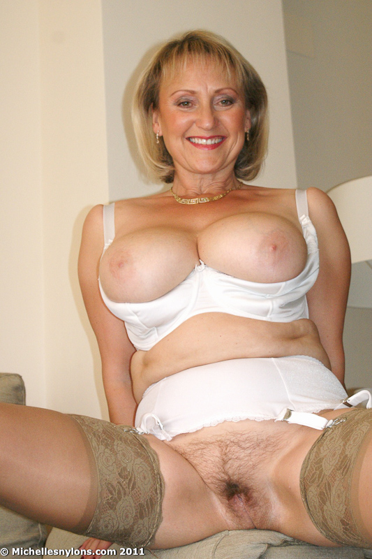 Valuable busty mlf matures in nylons