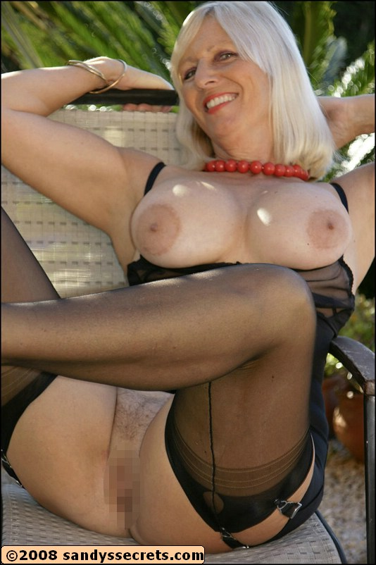 Excited Sandy s secret nylons mature opinion