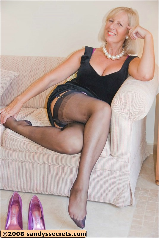 Remarkable, this sandy secrets mature pantyhose are