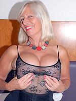 ass big tits blonde high heels mature stockings