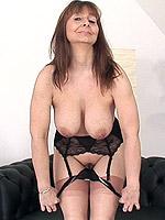 big tits blonde brunette high heels milf stockings toys