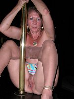 Playtime and a pole Want to watch Kisses Devlynn