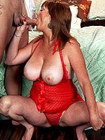Lynn Belmont, Blowjob, Cumshot, Mature