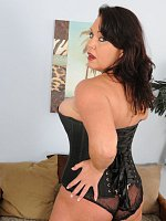 Angelica Sin, Busty 39 year old Angelica Sin sexilly dominating the camera man
