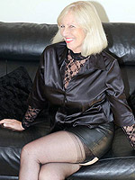 Gorgeous blonde mature Sandy