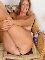 LA Valkenberg, Gorgeous 50 year old elegant LA Valkenberg slips out of her dress