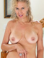 blonde mature tan lines