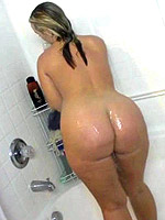 This girl loves a BBC, even in the shower.