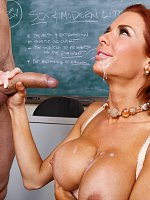 Veronica AvluvPreston is substituting a class for Veronica Avluv. The problem is that Preston is ju