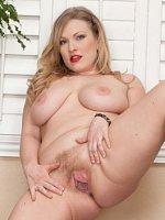Victoria Tyler - Big Boobs,Hairy Pussy,Short Girls,Blonde,Long hair,Bras,Pantyhose,Fair Skin,High He