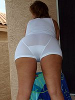 Dawn Marie Wearing Mens Underwear In Male Tightie Whities