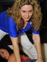 Licious Gia & Faith69 In Hot Lesbian Action