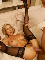 Brandi Love	Busty blonde MILF Brandi Love has hot sex with sugar daddy and gets her allowance for he