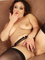 Anna P	36 year old elegant Anna P from AllOver30 looking hot in stockings
