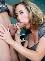 Brandi LoveProfessor Brandi Love is excited because her student aced his latest exam. She'd been tu