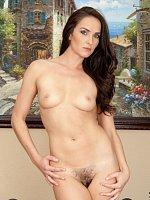 Bianca Breeze - Small Boobs,Landing Strip Pussy,Tall Girls,Brunette,Long hair,Bras,Panties,Masturbat