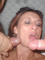 JuicyJo - Cougar-MILF-United Kingdom-Cum-On-Body-Cum-On-Tits-Facials-Bukkake-Gangbang - More hot cum