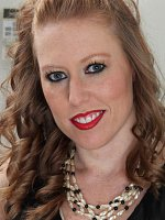 Amber Carlisle - 31 year old Amber Carlisle slides out of her elegant black dress